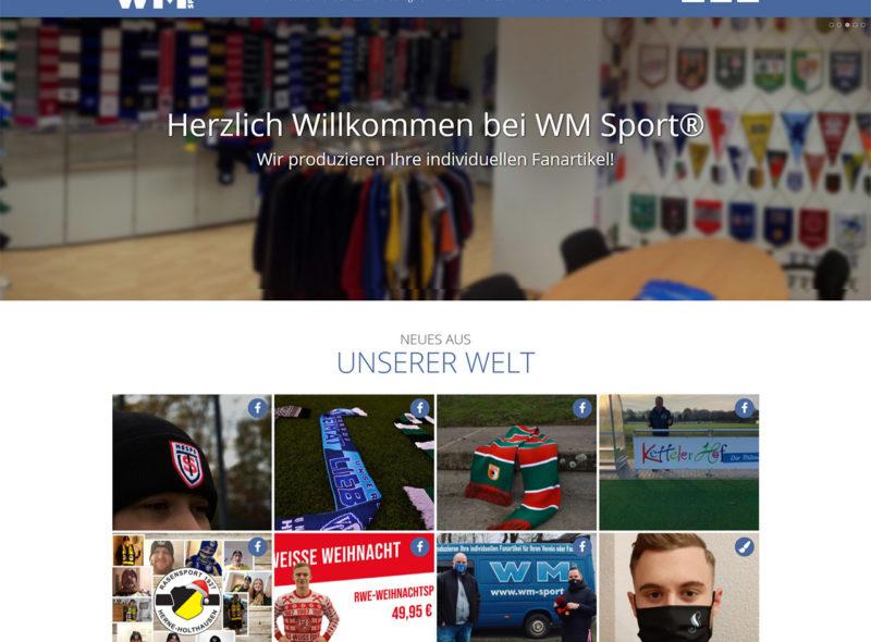 WM Sport - Individuelle Fan-Artikel