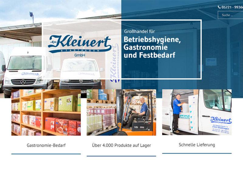 Max Kleinert GmbH: Großhandel für Betriebshygiene, Gastronomie und Festbedarf