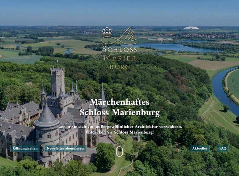 Schloss Marienburg - Märchenhaftes Schloss mit außergewöhnlicher Architektur