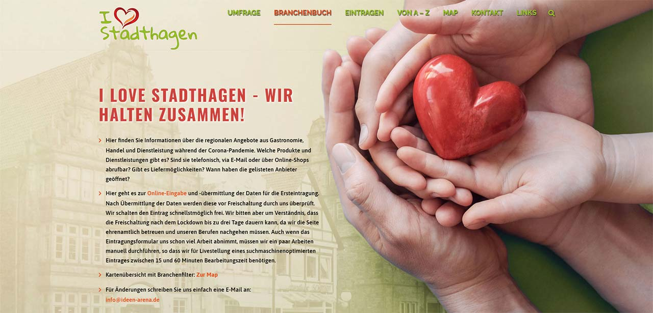 I love Stadthagen - Wir halten zusammen