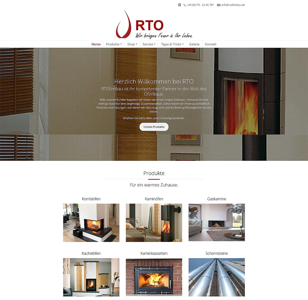 RTOfenbau: Wir bringen Feuer in Ihr Leben
