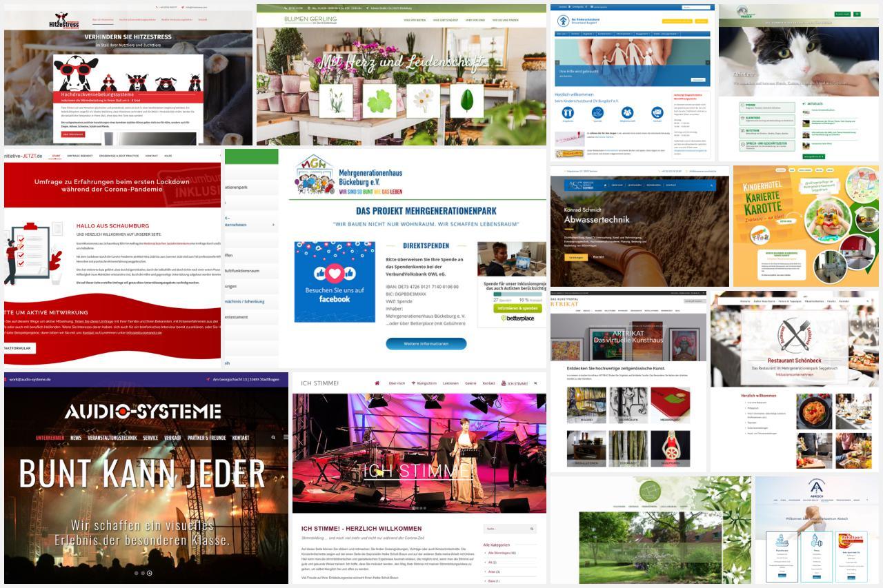 Referenzen: Einige unserer Kundenprojekte
