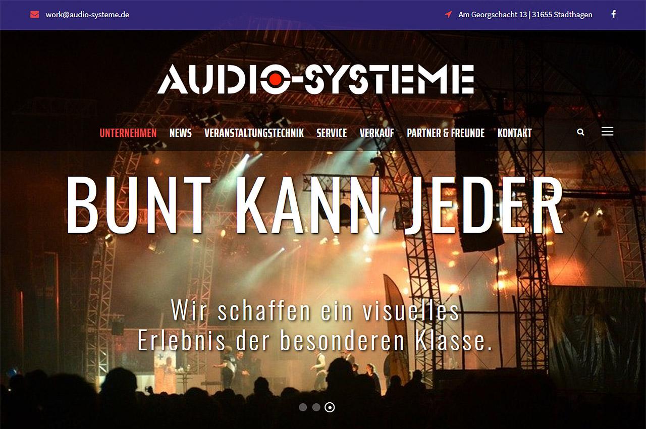 Audio-Systeme - Veranstaltungs- und Bühnentechnik