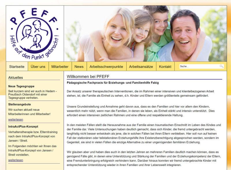 PFEFF - Pädagogische Fachpraxis für Erziehungs- und Familienhilfe Fabig