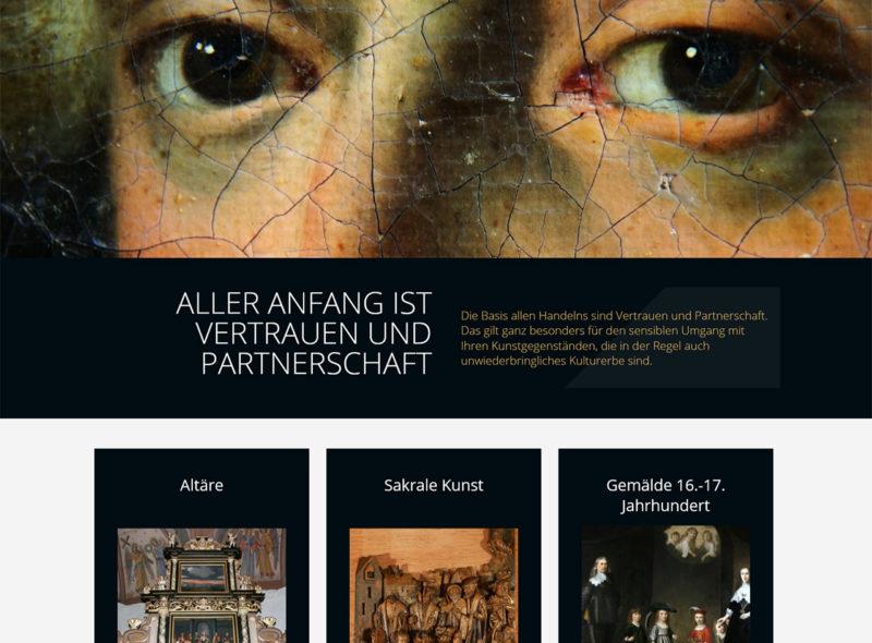 ART RESTAURO - Diplom-Restauratorin Ludmila Henseler