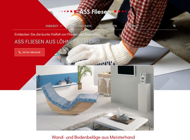 ASS Fliesen aus Löhne / Herford: Wand- und Bodenbeläge aus Meisterhand