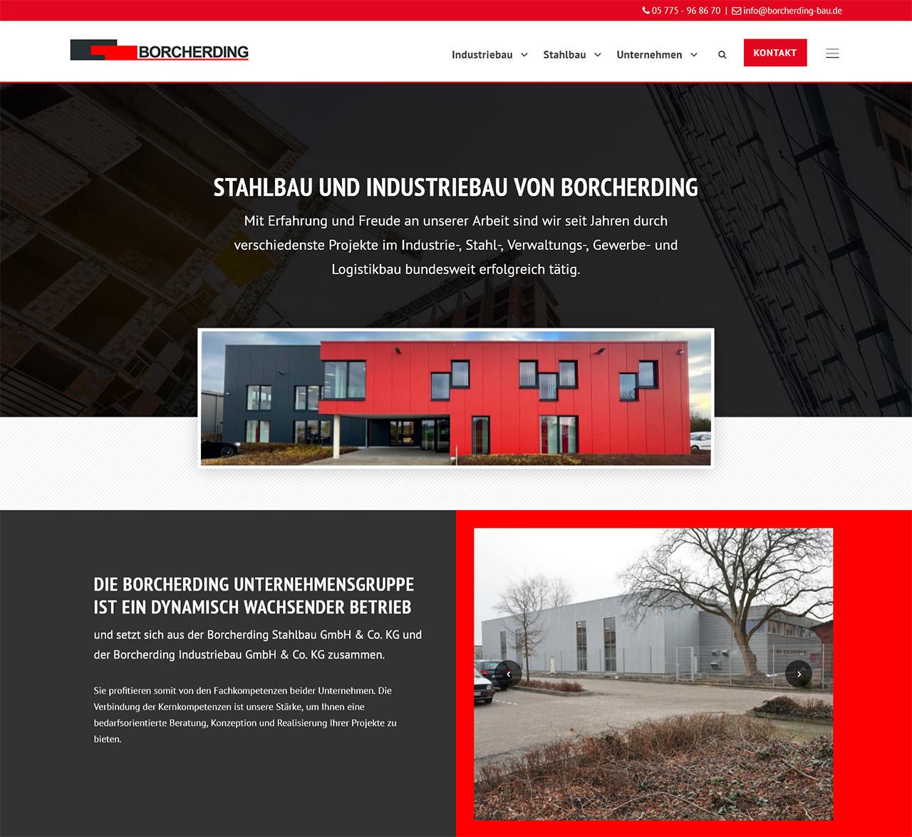 Borcherding Bau - Industriebau, Stahlbau
