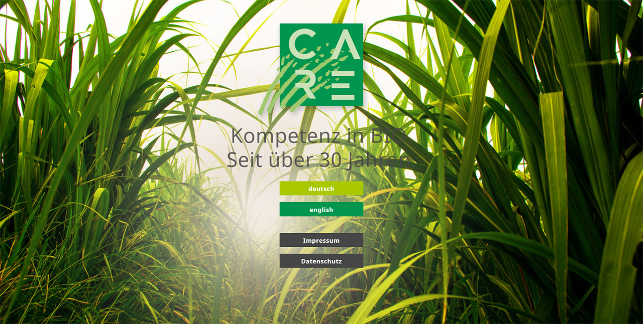 Care Natur - Kompetenz in BIO seit über 30 Jahren