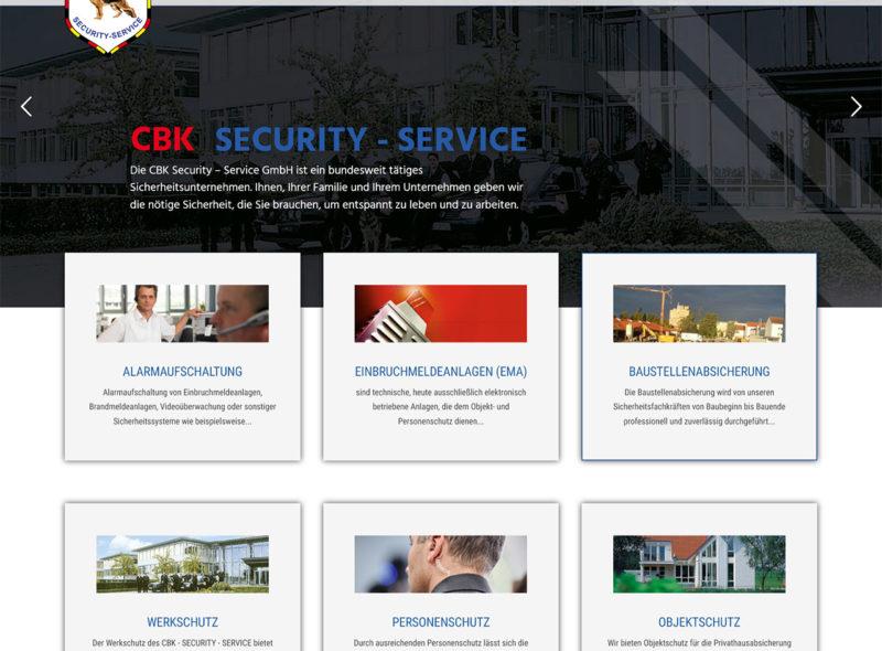 CBK Security-Service GmbH: Sicherheit für Unternehmen und Privatleute auf höchstem Niveau