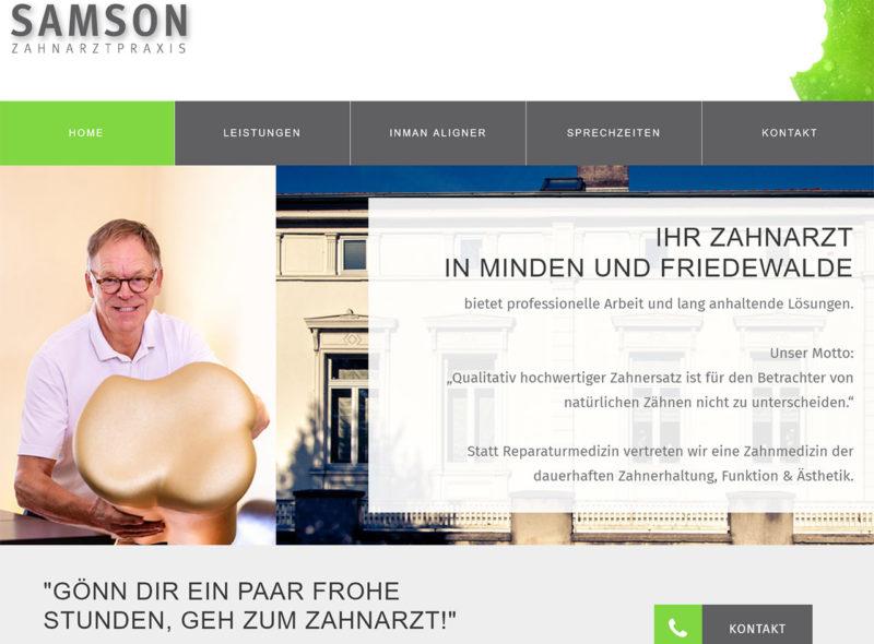 Dr. Oliver Samson - Zahnarzt in Minden