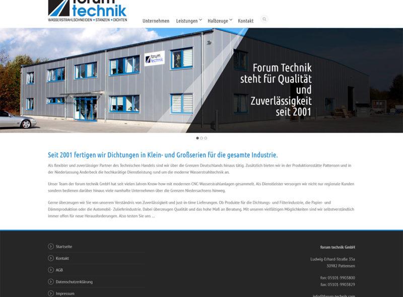 forum technik: Wasserstrahlschneiden - Stanzen - Dichten
