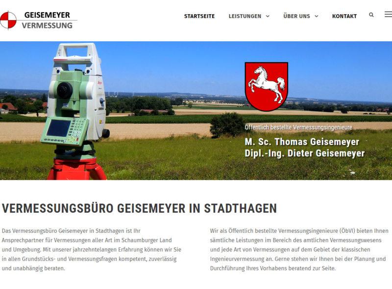 Vermessungsbüro Geisemeyer in Stadthagen