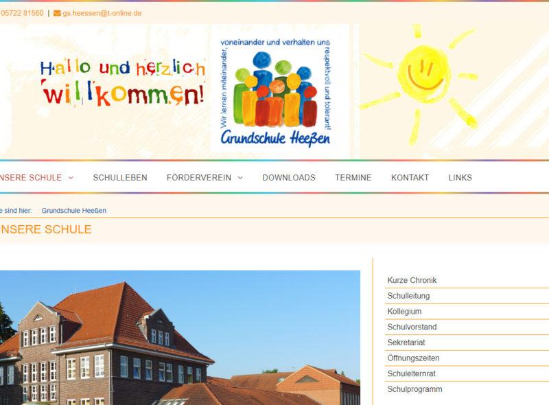 Grundschule Heeßen: Wir lernen miteinander, voneinander und verhalten uns respektvoll und tolerant!