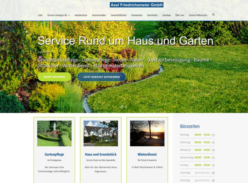 Haus & Garten Service - Axel Friedrichsmeier GmbH