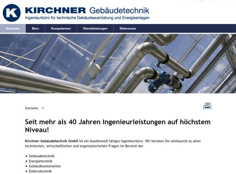 Kirchner Gebäudetechnik: Ingenieurbüro für technische Gebäudeausrüstung und Energieanlagen