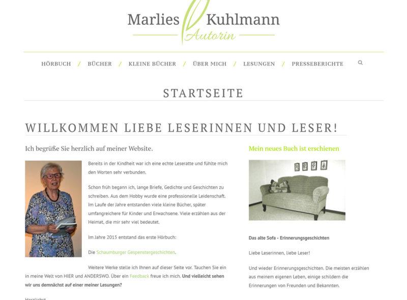 Marlies Kuhlmann - Autorin