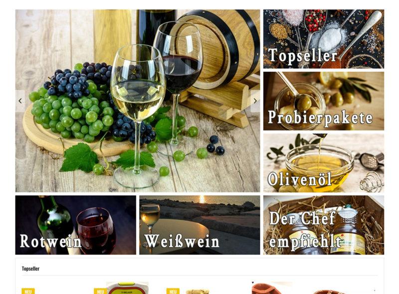 OLIVAL.de - Olivenöl, Wein, Spezialitäten - Alex Herrnleben - Adega Feggendorf