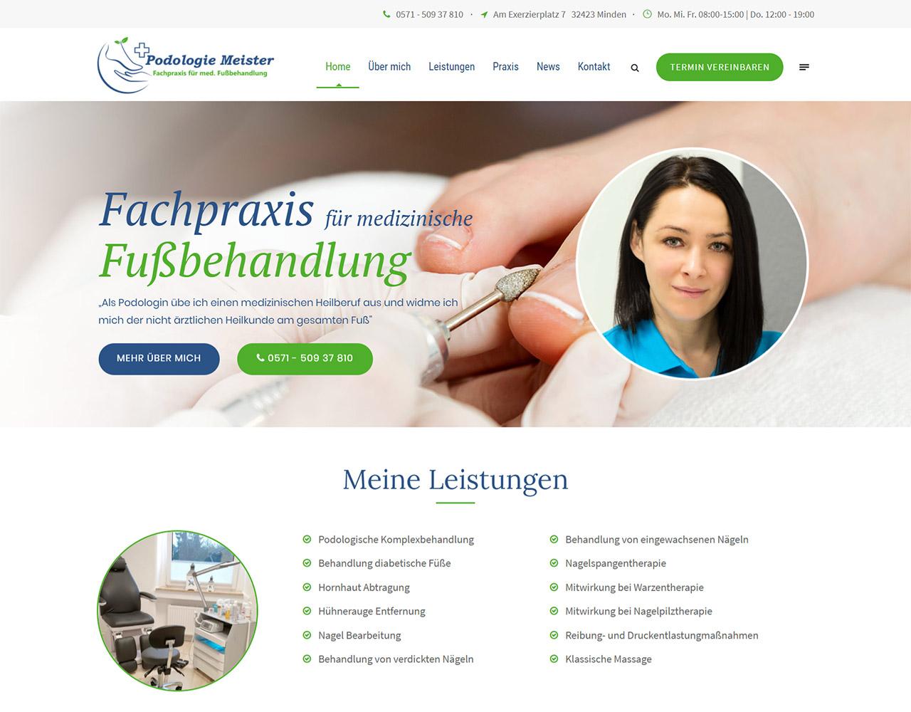 Podologie Meister in Minden: Fachpraxis für medizinische Fußbehandlung
