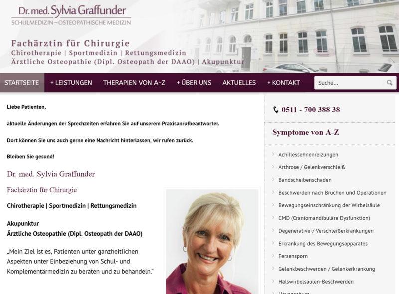 Dr. med. Sylvia Graffunder - Schulmedizin - Osteopathische Medizin
