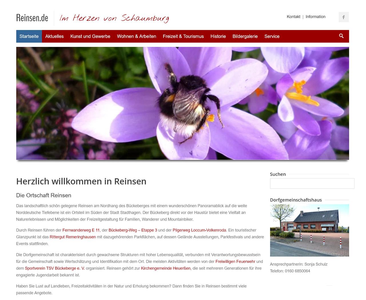 Reinsen - Im Herzen von Schaumburg