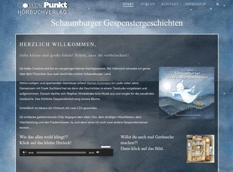 Schaumburger Gespenstergeschichten (Marlies Kuhlmann) - ContraPunkt Hörbuchverlag