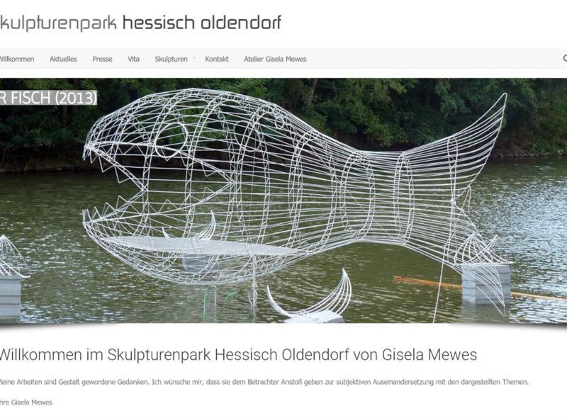 Skulpturenpark Hessisch Oldendorf von Gisela Mewes