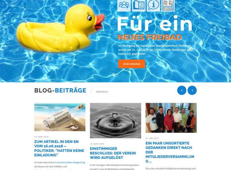 Stadthagen geht baden: Für ein neues Freibad in Stadthagen