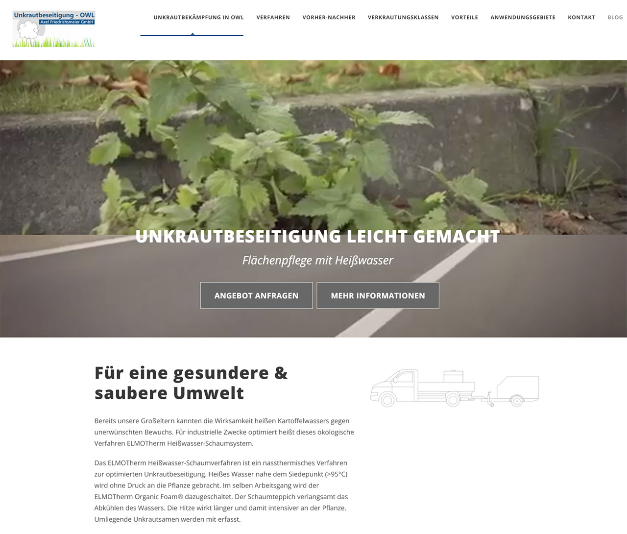 Unkrautbeseitigung - OWL / Axel Friedrichsmeier GmbH